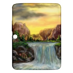 Brentons Waterfall   Ave Hurley   Artrave   Samsung Galaxy Tab 3 (10 1 ) P5200 Hardshell Case  by ArtRave2