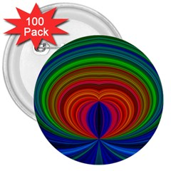 Design 3  Button (100 Pack) by Siebenhuehner