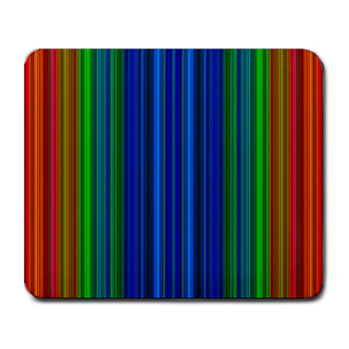 Strips Large Mouse Pad (Rectangle)