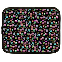 Happy Owls Netbook Case (large)