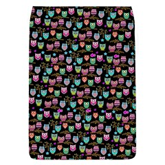 Happy Owls Removable Flap Cover (large) by Ancello