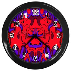 Abstract Wall Clock (black) by Siebenhuehner