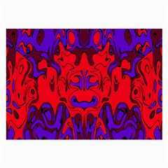 Abstract Glasses Cloth (large, Two Sided) by Siebenhuehner