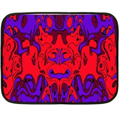 Abstract Mini Fleece Blanket (two Sided) by Siebenhuehner