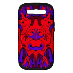 Abstract Samsung Galaxy S Iii Hardshell Case (pc+silicone) by Siebenhuehner