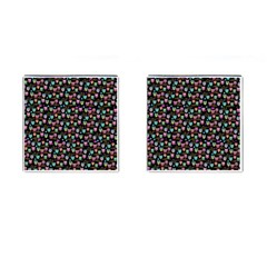 Happy Owls Cufflinks (square) by Ancello