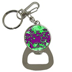 Abstract Bottle Opener Key Chain by Siebenhuehner