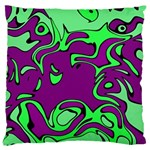 Abstract Large Cushion Case (Two Sided)  Back