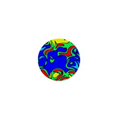 Abstract 1  Mini Button Magnet by Siebenhuehner