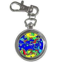 Abstract Key Chain & Watch by Siebenhuehner