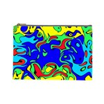 Abstract Cosmetic Bag (Large) Front