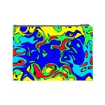 Abstract Cosmetic Bag (Large) Back