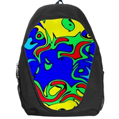 Abstract Backpack Bag by Siebenhuehner