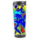 Abstract Travel Tumbler Left