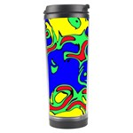 Abstract Travel Tumbler Center