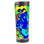 Abstract Travel Tumbler Right