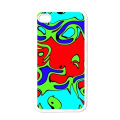 Abstract Apple Iphone 4 Case (white) by Siebenhuehner