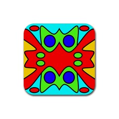 Abstract Drink Coaster (square) by Siebenhuehner