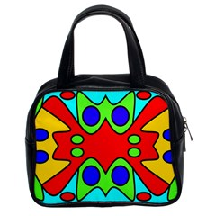 Abstract Classic Handbag (two Sides) by Siebenhuehner