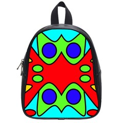 Abstract School Bag (small) by Siebenhuehner
