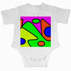 Abstract Infant Bodysuit by Siebenhuehner