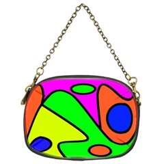 Abstract Chain Purse (two Sided)  by Siebenhuehner