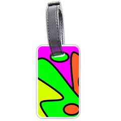 Abstract Luggage Tag (one Side) by Siebenhuehner