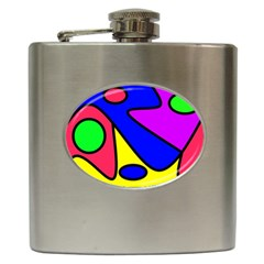 Abstract Hip Flask by Siebenhuehner