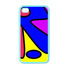 Abstract Apple Iphone 4 Case (color) by Siebenhuehner