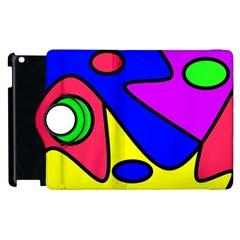 Abstract Apple Ipad 3/4 Flip 360 Case