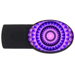 Mandala 2gb Usb Flash Drive (oval)