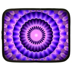 Mandala Netbook Sleeve (large) by Siebenhuehner