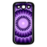 Mandala Samsung Galaxy S3 Back Case (Black) Front