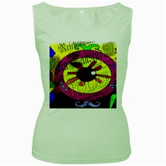 Abstract Womens  Tank Top (green) by Siebenhuehner