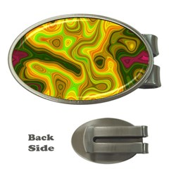 Abstract Money Clip (oval) by Siebenhuehner