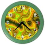 Abstract Wall Clock (Color) Front