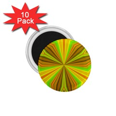 Abstract 1 75  Button Magnet (10 Pack) by Siebenhuehner
