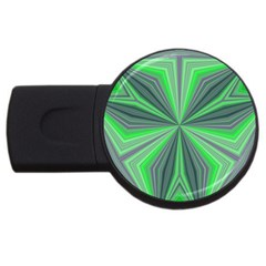 Abstract 2gb Usb Flash Drive (round) by Siebenhuehner