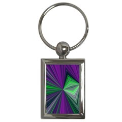 Abstract Key Chain (rectangle) by Siebenhuehner
