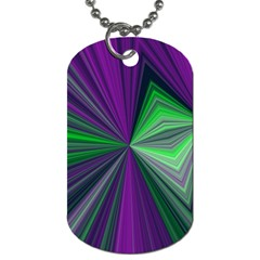 Abstract Dog Tag (two Sided)  by Siebenhuehner