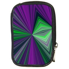 Abstract Compact Camera Leather Case by Siebenhuehner