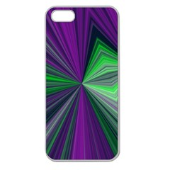 Abstract Apple Seamless Iphone 5 Case (clear) by Siebenhuehner
