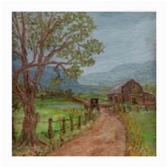 amish Buggy Going Home  By Ave Hurley Of Artrevu   Medium Glasses Cloth by ArtRave2