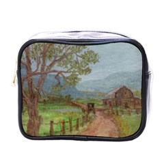 amish Buggy Going Home  By Ave Hurley Of Artrevu   Mini Toiletries Bag (one Side) by ArtRave2