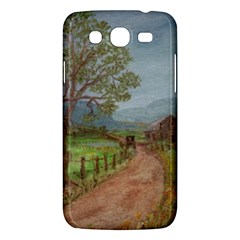 amish Buggy Going Home  By Ave Hurley Of Artrevu   Samsung Galaxy Mega 5 8 I9152 Hardshell Case  by ArtRave2