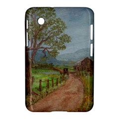 amish Buggy Going Home  By Ave Hurley Of Artrevu   Samsung Galaxy Tab 2 (7 ) P3100 Hardshell Case  by ArtRave2
