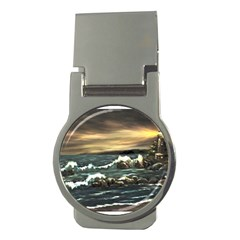 bridget s Lighthouse   By Ave Hurley Of Artrevu   Money Clip (round) by ArtRave2