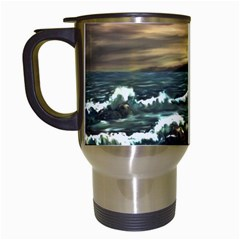 bridget s Lighthouse   By Ave Hurley Of Artrevu   Travel Mug (white) by ArtRave2