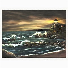 bridget s Lighthouse   By Ave Hurley Of Artrevu   Canvas 12  X 16  by ArtRave2