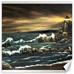 bridget s Lighthouse   By Ave Hurley Of Artrevu   Canvas 20  X 20  by ArtRave2